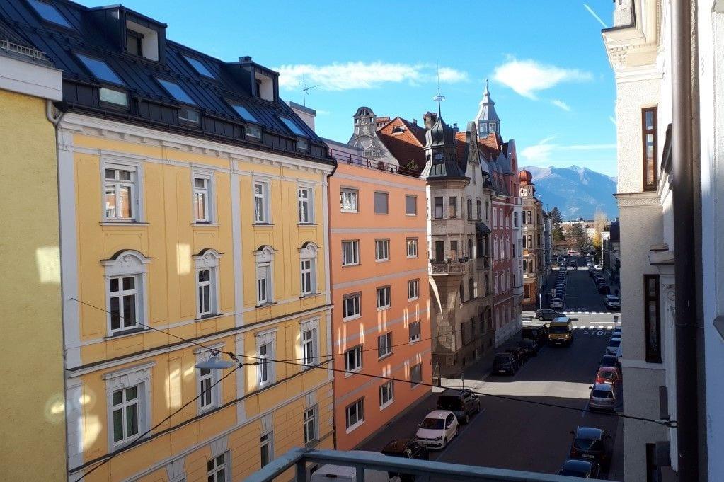 Aussicht Schöpfstraße 6a nahe Klinik Innsbruck